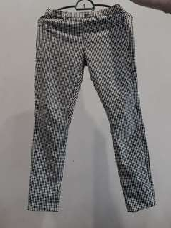 Uniqlo checkered pants