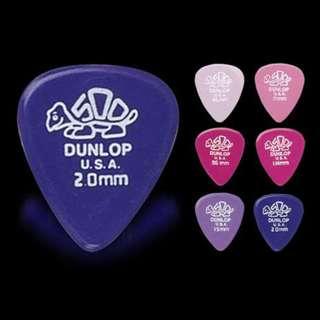 Jim Dunlop Delrin 41P Standard Guitar Picks Plectrums