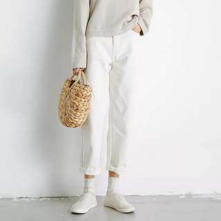 EAL white jeans