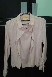 Khaki blouse (cream)