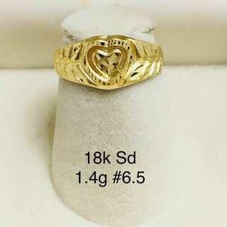 18k Saudi Gold Ringz