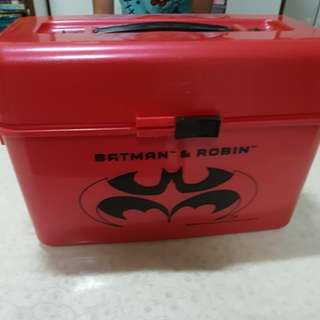 KFC Lunch Box from the Movie BATMAN & ROBIN 1996