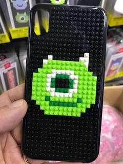手機殼圖案自己砌!100%全新!Miniblock Phone Case Monsters University 怪獸大學手機保護殻 可選7 7plus 8 8plus and X Huawei xiaomi 手機殼 手機套 電話套 LEGO phone case 樂高 積木