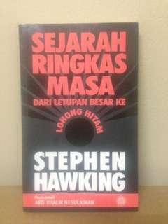 SEJARAH RINGKAS MASA-STEPHEN HAWKING
