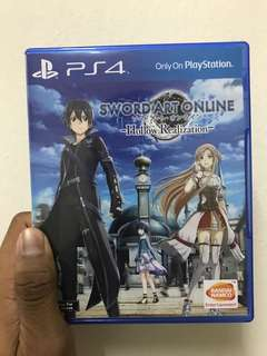 Ps4 Sword Art Online Hollow Realization