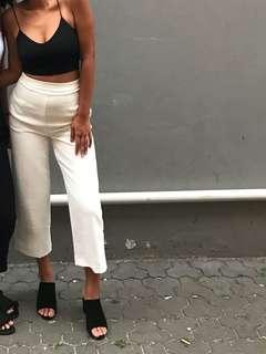 Kookaï White Oyster Pants 36