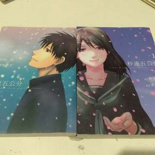 Four Centimeters per Second Manga 秒速五公分 漫画