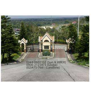 Lot for Sale in Ridgewood Heights, Tagaytay
