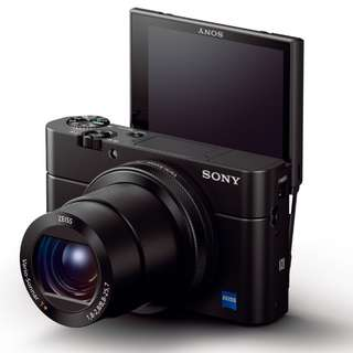 Sony Cyber-Shot DSC-RX100 MK IV Digital Camera. 15 month sony malaysia warranty. FreeSony 16gb card, Extra Battery, Leather Case and Selfie Stick