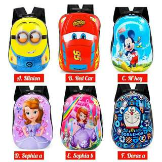 Kids Backpack school leisure children egg shell