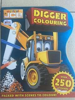 Sticker book for kids