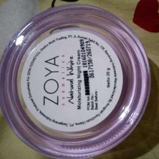 Zoya Night cream