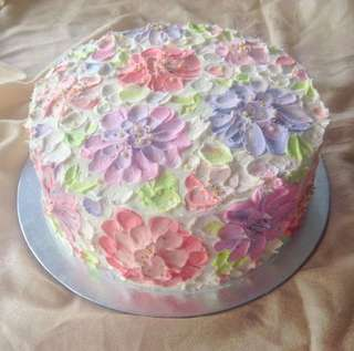 """10""""x4"""" Mother's Day Cake"""