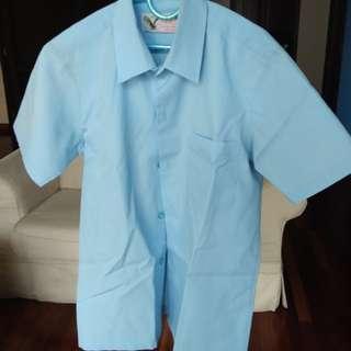 Girl's Primary School Uniform / Baju Sekolah - Blue/Biru