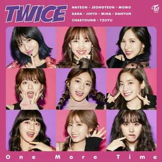 [ON HAND] Twice - One More Time