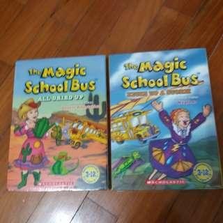 The Magic School Bus DVDs