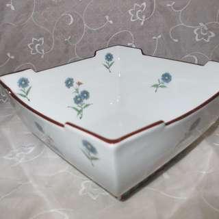 Vintage Japanese Square Bowl