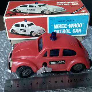 Vintage VW FIRECHIEF CAR
