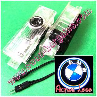 Integrated BMW Logo LED Light Ghost Shadow Projector Car Door Courtesy Welcome Greeting Lamp 3-Series E90 E91 E92 E93 M3 5-Series E60 E61 F10 F07 M5 6-Series E63 E64 F12 F13 M6 7-Series E65 E66 E67 E68 F01 F02 X5 X6