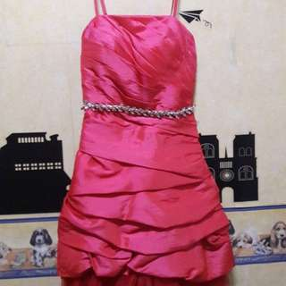 Pink Party Dress ( bisa nego )