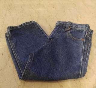 Dark Denim Boy's Jeans