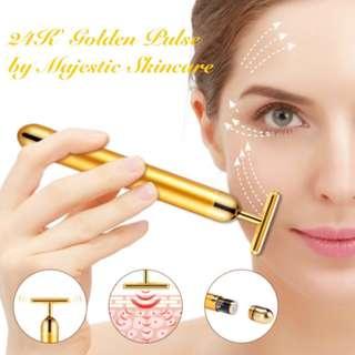 24K Golden Pulse Beauty & Slimming Massager (Face&Body)