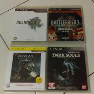 🚚 PS3遊戲片全收1000