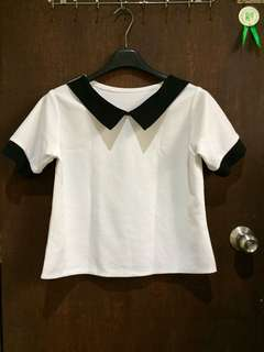 Black & White Casual Shirt