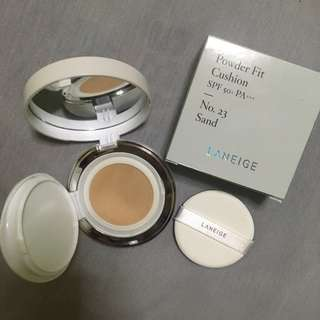 Laneige Powder Fit Cushion Sand