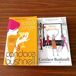 2 for $10: By Candace Bushnell: Four Blondes, Lipstick Jungle