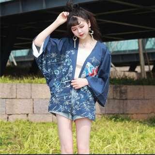 日系原宿和服罩衫
