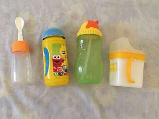 Bottles/Containers for baby (P200 for all)