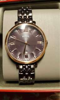 Fossil Jacqueline threehand date watch