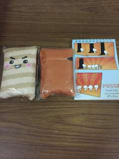 Cute recycle eco friendly bags and note memo pad