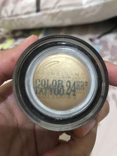 Maybelline color tattoo 24h shade Eternal gold