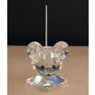 SWAROVSKI Retired CRYSTAL Large Mouse Rat 7631 NR 040 000 WITH BOX