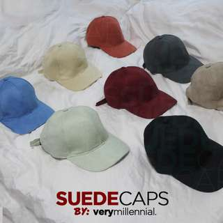 VM: Suede Caps
