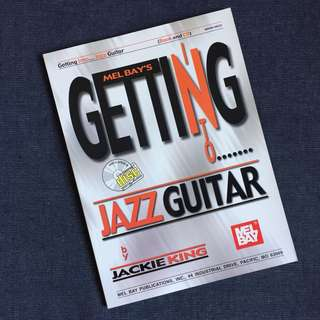 Melbay's Getting into Jazz Guitar Book (Book/CD Set)