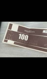 Muthu's Curry voucher
