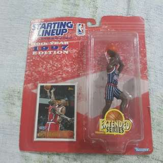 "Legit Brand New Sealed NBA Kenner Starting Lineup 6"" Clyde Drexler Houston Rockets Toy Figure"