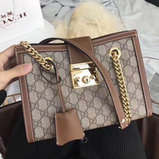 Gucci padlock bag