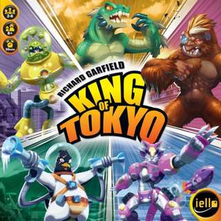 King of Tokyo (Authentic- Party Game!)