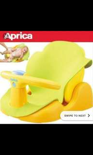 Aprica bath seat used only once