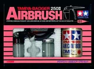 Tamiya airbrush set system No.5 Badger 350II set 74405
