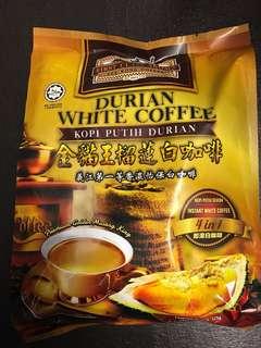 馬來西亞 金貓王榴槤白咖啡