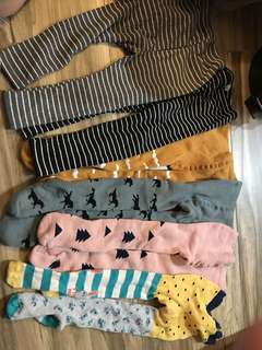 2~4yrs next stockings leggings 6 pieces