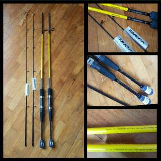 DAIWA CROSSFIRE 6FT FISHING ROD ( BAITCAST AND SPINNING IN STOCK !)