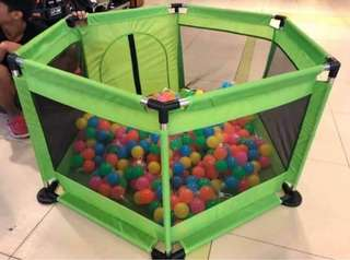 play pen w/ out balls