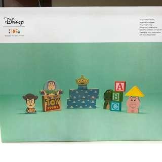 JPN Exclusive: Toy Story Set - Disney Kidea Wooden Toys