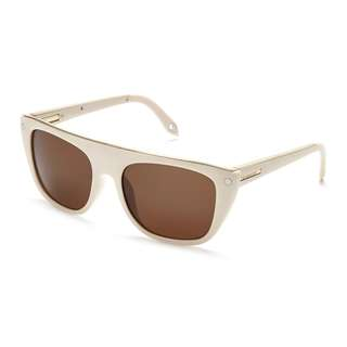 Givenchy SGV 883-09X7 Sunglasses - Cream/Gold